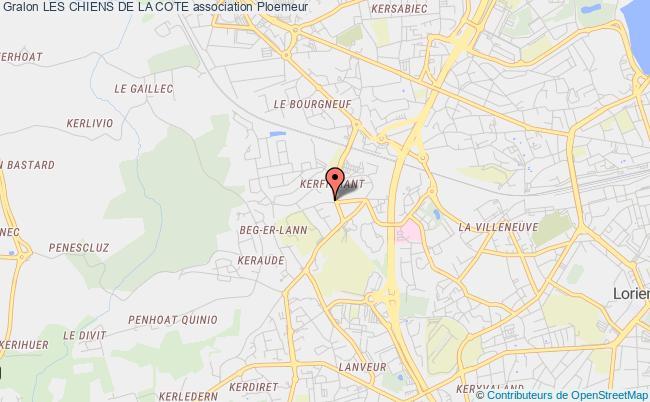 plan association Les Chiens De La Cote