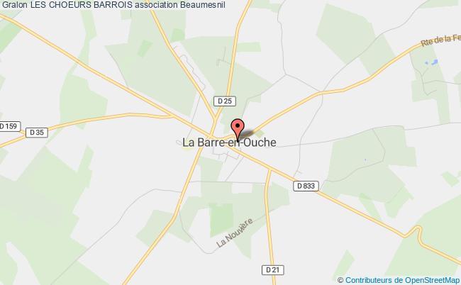 plan association Les Choeurs Barrois