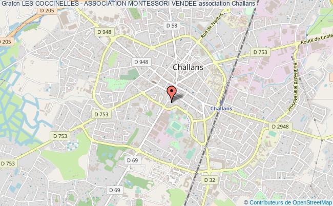 plan association Les Coccinelles - Association Montessori Vendee