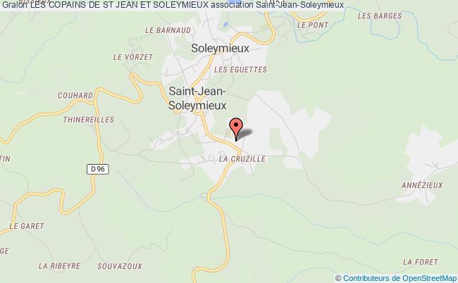 plan association Les Copains De St Jean Et Soleymieux Saint-Jean-Soleymieux