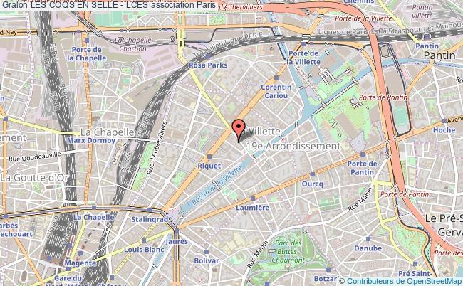plan association Les Coqs En Selle - Lces