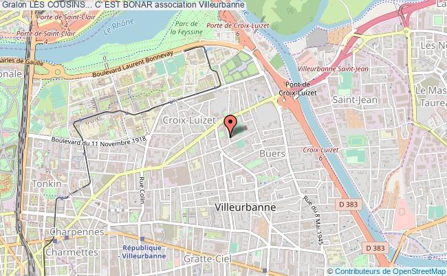 plan association Les Cousins... C' Est Bonar