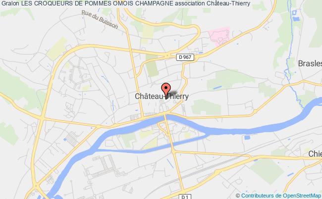 plan association Les Croqueurs De Pommes Omois Champagne