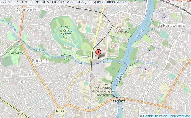 plan association Les Developpeurs Locaux Associes (ldla)