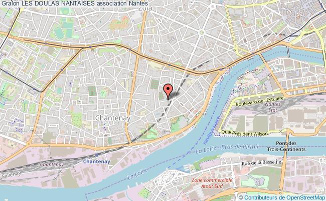 plan association Les Doulas Nantaises