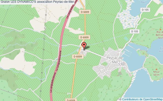 plan association Les Dynamico's Peyriac-de-Mer