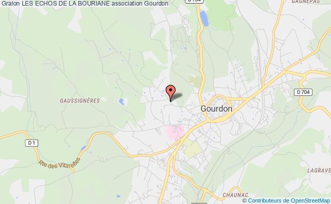 plan association Les Echos De La Bouriane