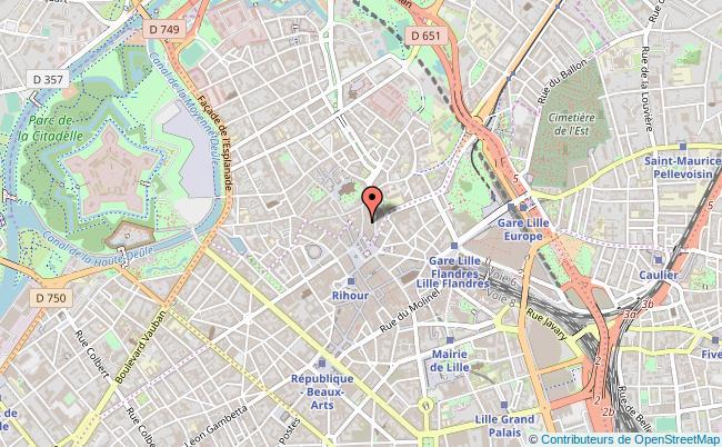 plan association Les Eco Lillois Lille