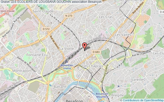 plan association Les Ecoliers De Lougsana Goughin