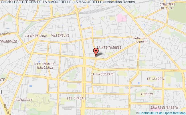 plan association Les Éditions De La Maquerelle (la Maquerelle)