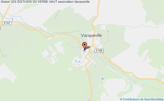 plan association Les Éditions Du Verbe Haut