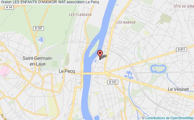 plan association Les Enfants D'angkor Wat Le Pecq