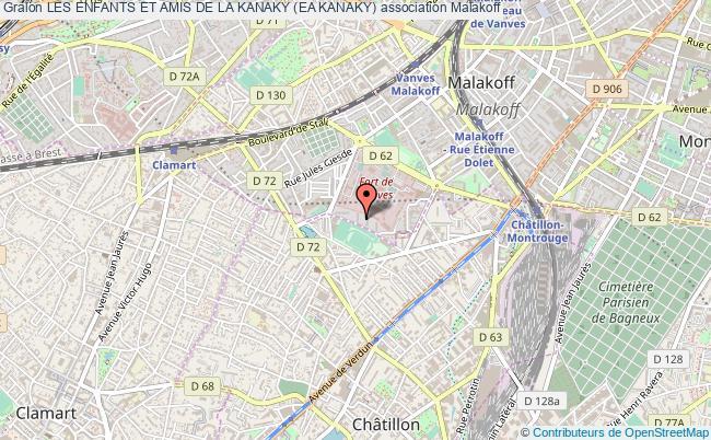plan association Les Enfants Et Amis De La Kanaky (ea Kanaky) Malakoff