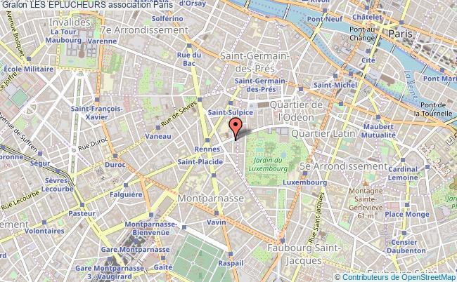 plan association Les Eplucheurs Paris