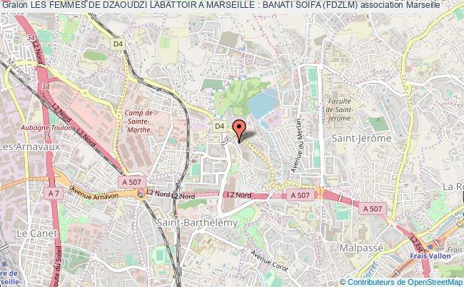 plan association Les Femmes De Dzaoudzi Labattoir A Marseille : Banati Soifa (fdzlm)