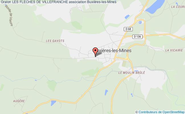 plan association Les Fleches De Villefranche