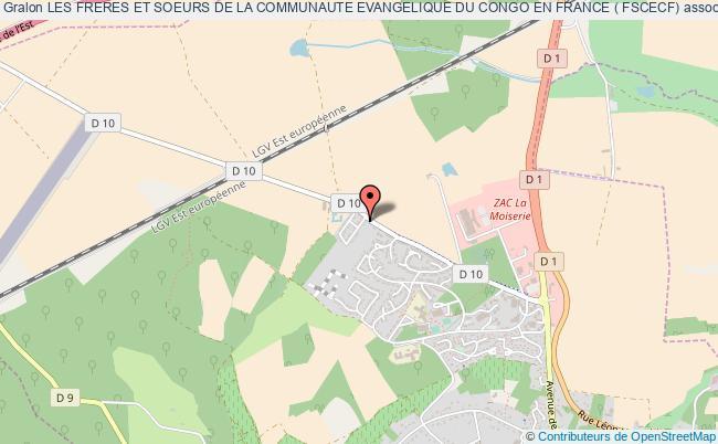 plan association Les Freres Et Soeurs De La Communaute Evangelique Du Congo En France ( Fscecf)
