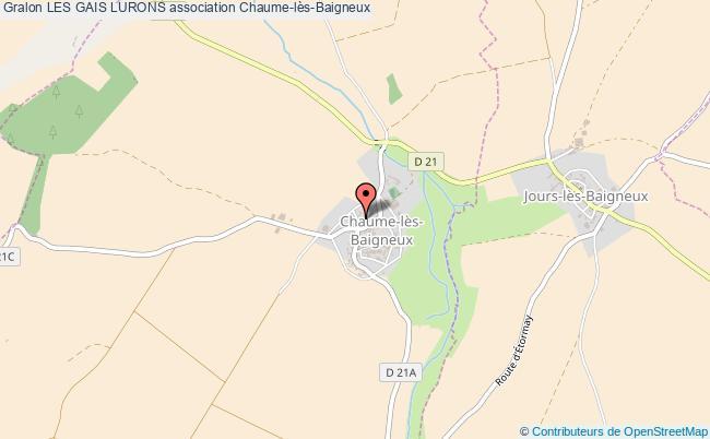 plan association Les Gais Lurons