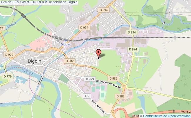 plan association Les Gars Du Rock Digoin