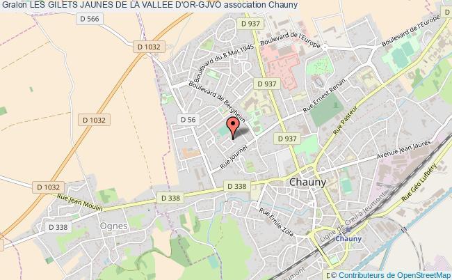 plan association Les Gilets Jaunes De La Vallee D'or-gjvo