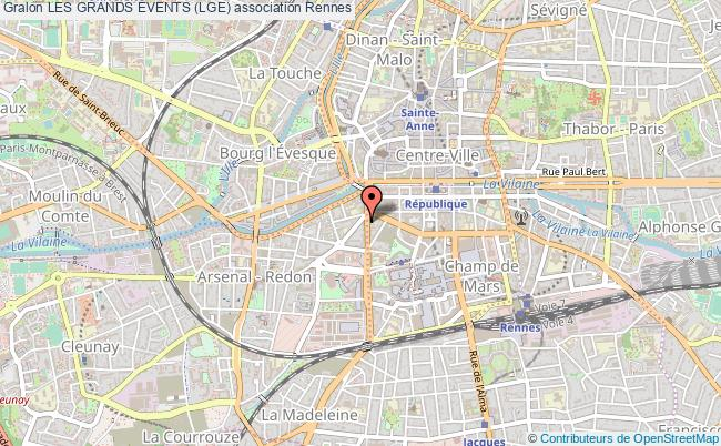 plan association Les Grands Events (lge) Rennes