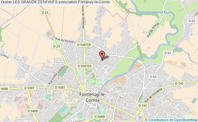 plan association Les Grands Z'enfants Fontenay-le-Comte