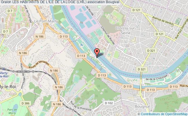 plan association Les Habitants De L'ile De La Loge (lhil) Bougival