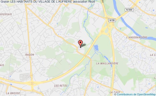 plan association Les Habitants Du Village De L'aufrere