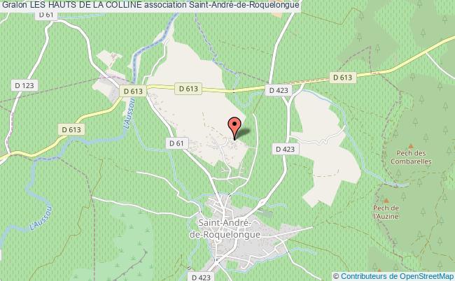 plan association Les Hauts De La Colline Saint-André-de-Roquelongue