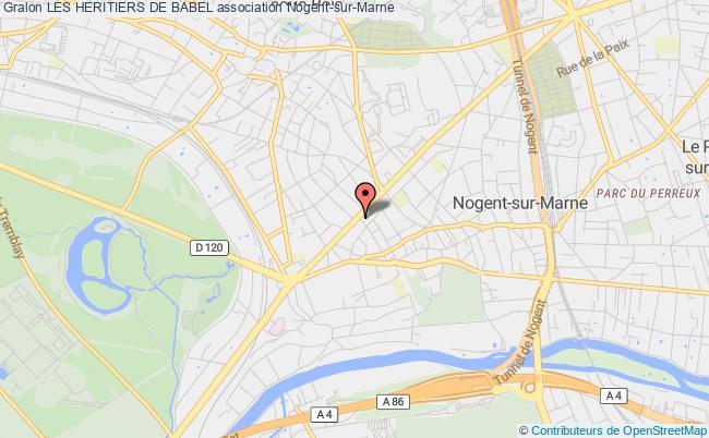 plan association Les Heritiers De Babel Paris