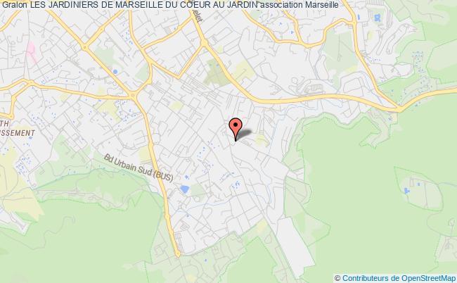 plan association Les Jardiniers De Marseille Du Coeur Au Jardin Marseille