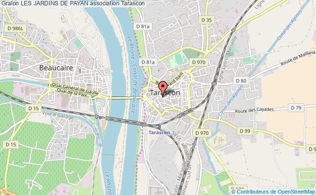 plan association Les Jardins De Payan