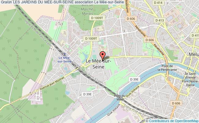 plan association Les Jardins Du MÉe-sur-seine Le    Mée-sur-Seine