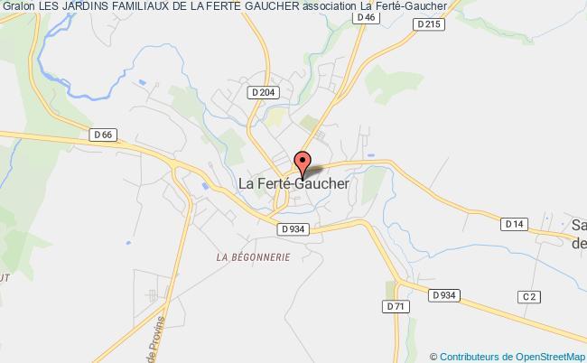 plan association Les Jardins Familiaux De La Ferte Gaucher La    Ferté-Gaucher