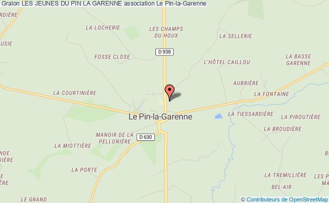 plan association Les Jeunes Du Pin La Garenne