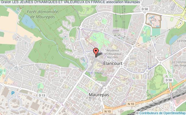 plan association Les Jeunes Dynamiques Et Valeureux En France Maurepas