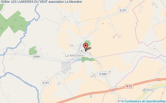 plan association Les Lumieres Du Vent