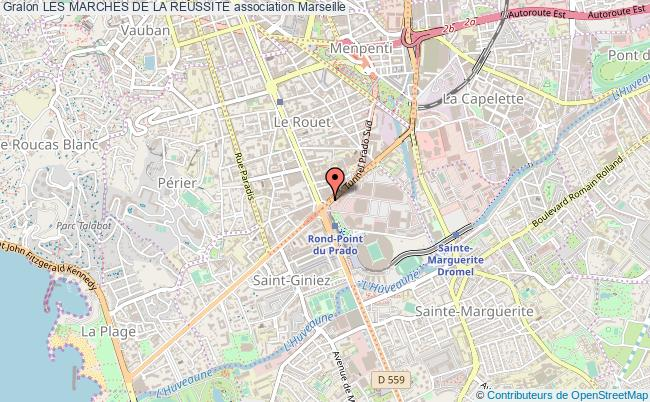 plan association Les Marches De La Reussite Marseille