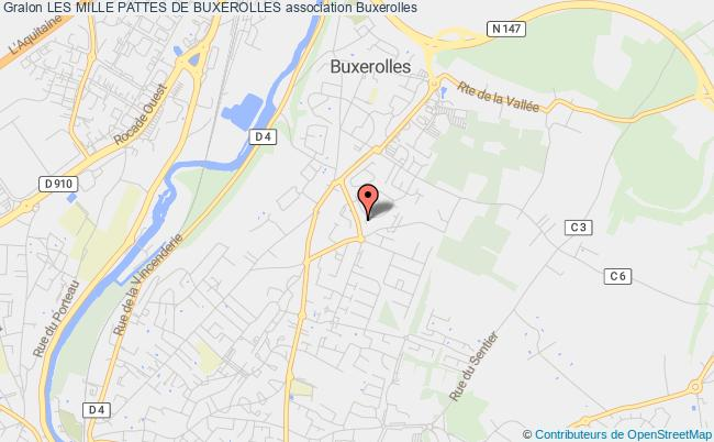 plan association Les Mille Pattes De L'etoile Sportive De Buxerolles Buxerolles