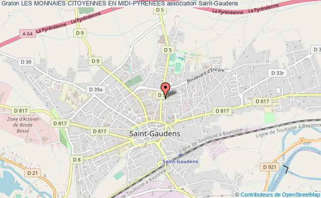 plan association Les Monnaies Citoyennes En Midi-pyrenees Saint-Gaudens