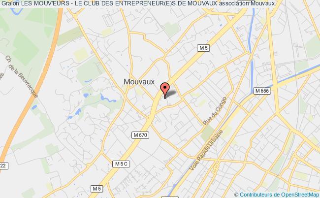 plan association Les Mouv'eurs - Le Club Des Entrepreneur(e)s De Mouvaux