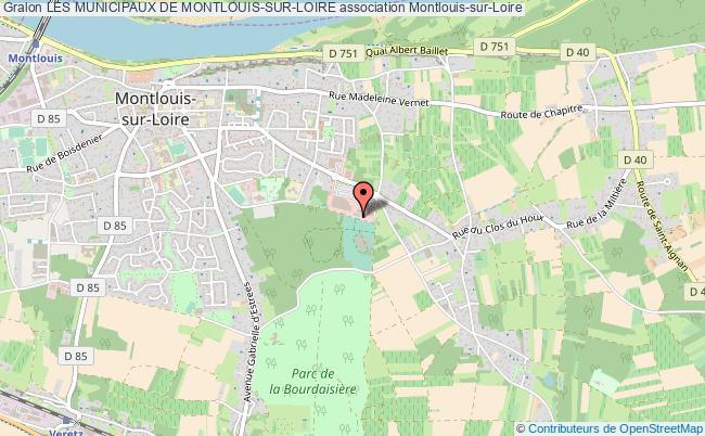 plan association Les Municipaux De Montlouis-sur-loire
