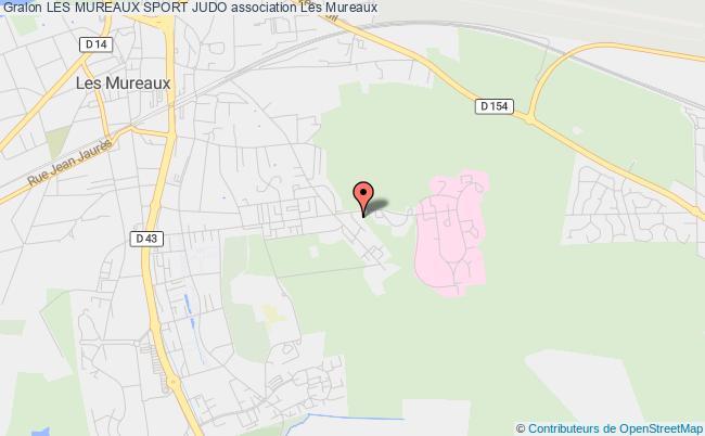 plan association Les Mureaux Sport Judo Mureaux