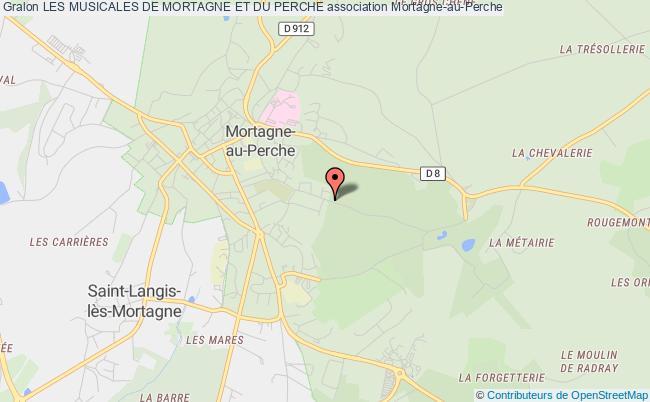 plan association Les Musicales De Mortagne Et Du Perche
