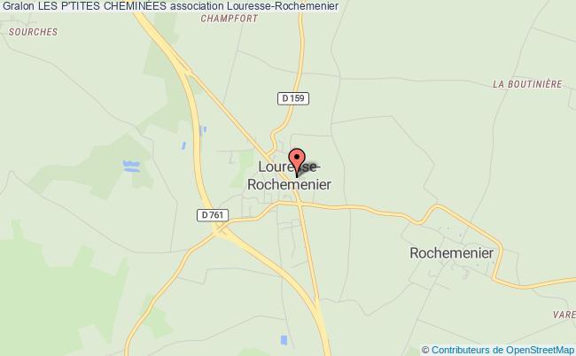 plan association Les P'tites CheminÉes Louresse-Rochemenier