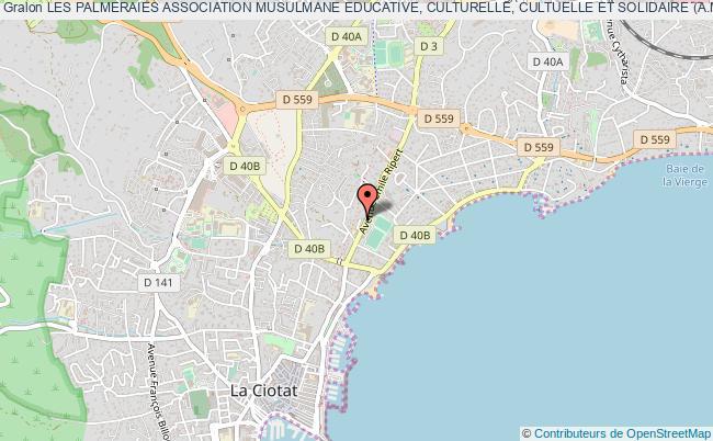 plan association Les Palmeraies Association Musulmane Educative, Culturelle, Cultuelle Et Solidaire (a.m.e.c.c.s.)
