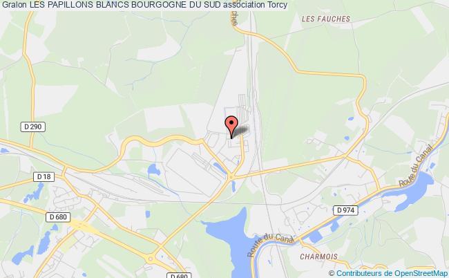 plan association Les Papillons Blancs Bourgogne Du Sud