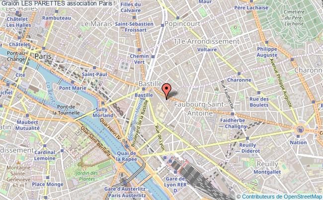 plan association Les Parettes Paris