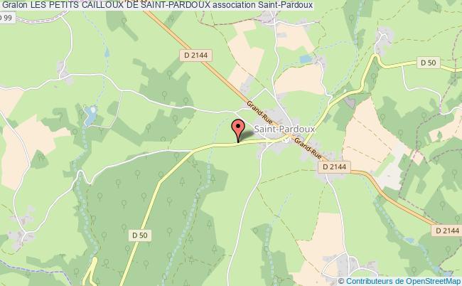 plan association Les Petits Cailloux De Saint-pardoux