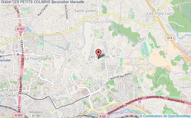 plan association Les Petits Colibris Marseille
